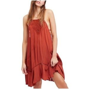 NWT Free People Oversized Strappy Heat Wave Dress